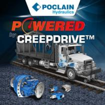 CreepDrive™ Constant Low Speed, Poclain Hydraulics Inc